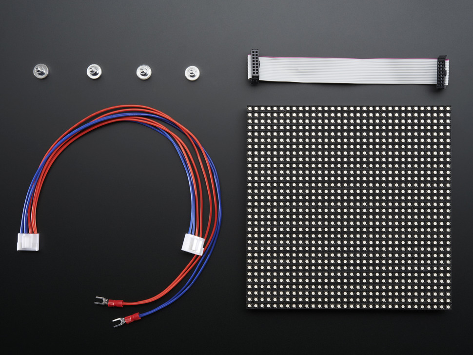 32 32 rgb led matrix panel 5mm pitch raspberry pi. Black Bedroom Furniture Sets. Home Design Ideas