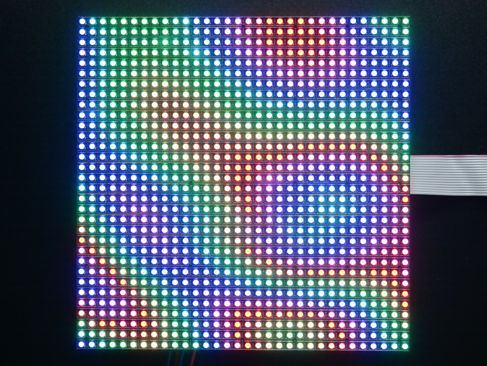 32 215 32 Rgb Led Matrix Panel 5mm Pitch Raspberry Pi в