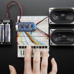 Adafruit Audio FX Sound Board + 2x2W Amp - WAV/OGG Trigger - 2MB