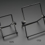 """Adjustable Bent-Wire Stand for 8-10"""" Tablets and Displays"""