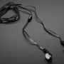 Cell-phone TRRS Headset - Earbud Headphones w/ Microphone