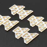 Chibitronics White LEDs Add-On Pack