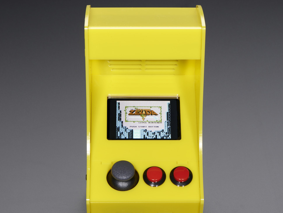 Cupcade The Raspberry Pi Powered Micro Arcade Cabinet Kit