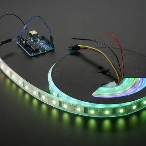 Digital RGB LED Weatherproof Strip - LPD8806 x 48 LED - 1 Meter - LPD8806