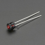 3mm Plastic Bevel LED Holder - Pack of 5