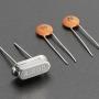 4 MHz Crystal + 20pF capacitors