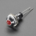 5mm_Chromed_Metal_Wide_Convex_Bevel_LED_Holder-Pack_of_5