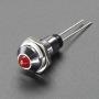 5mm_Chromed_Metal_Wide_Convex_Bevel_LED_Holder-Pack_of_5