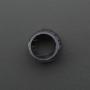 8mm Plastic Bevel LED Holder - Pack of 5