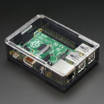 Adafruit Raspberry Pi B+ Case - Smoke Base w/ Clear Top