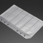 Blank SMT Storage Pages for 6 strips of 24mm Tape - 5 Pages