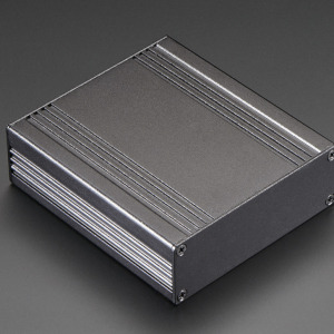 Extruded Aluminum Box - 90mm x 82mm x 26mm
