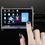 "HDMI 5"" 800x480 дисплей с тачскрином"