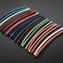 "Multi-Colored Heat Shrink Pack - 3/32"" + 1/8"" + 3/16"" Diameters"