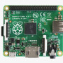 Raspberry Pi Model A+ 256MB RAM Top View