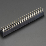GPIO Header for Raspberry Pi HAT - 2x20 Short Female Header