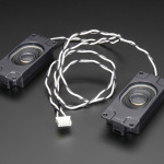 Stereo Enclosed Speaker Set - 3W 4 Ohm