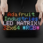 64x32 RGB LED Matrix - 4mm pitch