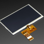 "7.0"" 40-pin TFT Display - 800x480 with Touchscreen"