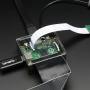 Adafruit Raspberry Pi A+ Case - Smoke Base w/ Clear Top
