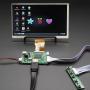 "HDMI 4 Pi: 7"" Display no Touchscreen 1024x600 w/ Mini Driver"