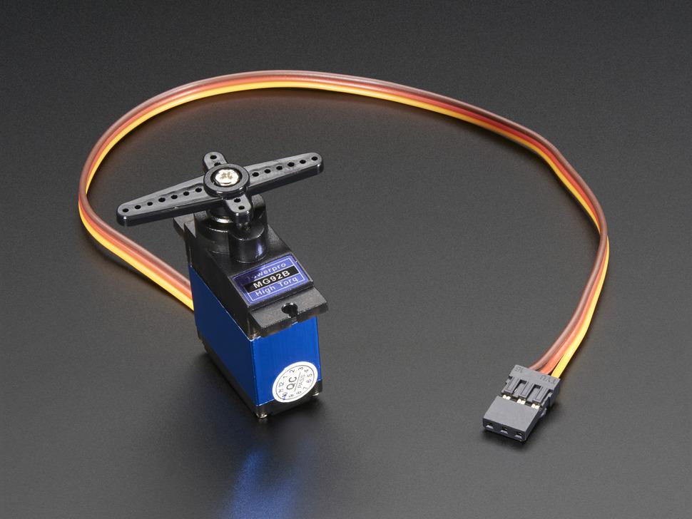 Micro servo high powered high torque metal gear for High power servo motor