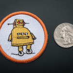 Instructables - Badge, iron-on patch