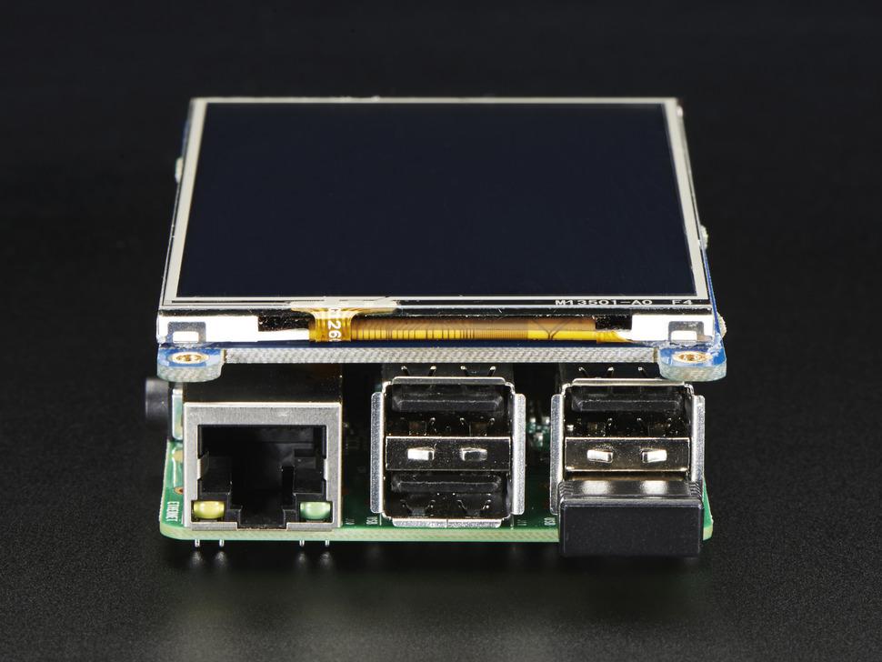 PiTFT Plus 480×320 3 5″ c тачскрином для Raspberry Pi 3 и A+/B+/2B