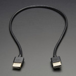 Slim HDMI Cable - 450mm / 1.5 feet long