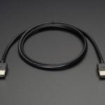Slim HDMI Cable - 914mm / 3 feet long