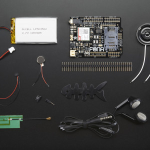 Adafruit FONA 800 uFL Shield Starter Pack