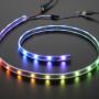 Adafruit NeoPixel LED Strip Starter Pack - 30 LED meter - Black