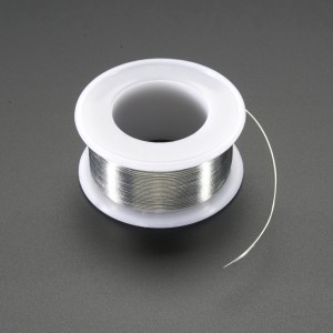 "Solder Wire - RoHS Lead Free - 0.5mm/.02"" diameter - 50g"