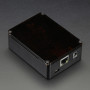 Anidées Beaglebone Black Case - Black Aluminum with Smoke Top