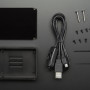 Anidées Beaglebone Black Case - Black Aluminum with Smoke Top