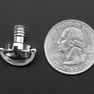 """1/4"""" Screw with D-Ring - for Cameras / Tripods / Photo / Video"""