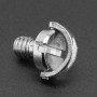 "1/4"" Screw with D-Ring - for Cameras / Tripods / Photo / Video"