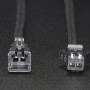 2-pin JST SM Plug + Receptacle Cable Set