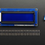 Assembled Standard LCD 16x2 + extras - White on Blue