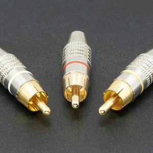 DIY RCA Plug - 3 Pack