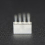 Diffused Rectangular 5mm RGB LEDs - Pack of 10