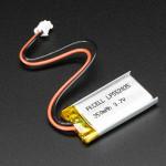Lithium Ion Polymer Battery - 3.7v 350mAh
