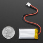 Lithium Ion Polymer Battery - 3.7v 350mAh