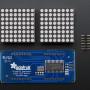 "16x8 1.2"" LED Matrix + Backpack - Ultra Bright Round Green LEDs"