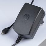 Блок питания 5V 2,5А официальный Raspberry Pi черный