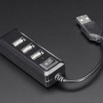Mini USB-концентратор с выключателем питания