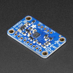 3Adafruit 9-DOF Accel/Mag/Gyro+Temp Breakout Board - LSM9DS1