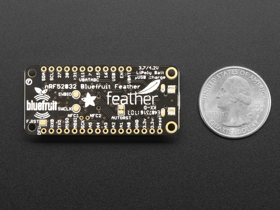 Adafruit Feather nRF52 Bluefruit LE — nRF52832