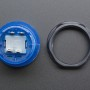 Arcade Button with LED - 30mm Translucent Blue