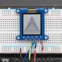 "Adafruit SHARP Memory Display Breakout - 1.3"" 168x144 Monochrome"